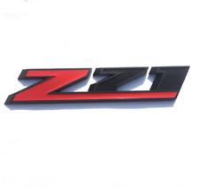 1pc Z71 Front Door Emblem Sport Badge Red Black Fit Chevy GMC Chevrolet Colorado