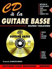 Partition : CD à la guitare basse F. Darizcuren - CD Inclus