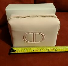 New DIOR Light Pink Make up Leather  Bag/Pouch
