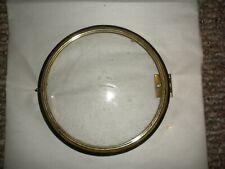 Brass Banjo Clock Bezel w/curved glass - Foster Campos ?