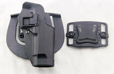 Airsoft Tactical Right Hand holster Paddle with Belt for M9 M92 Bereta Pistol
