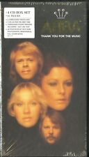ABBA : 4CD BOX-SET - THANK YOU FOR THE MUSIC - LIMITED EDITION / NUMBERED - NEU