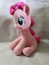 "Pinkie Pie My Little Pony Hasbro Plush Stuffed Animal Toy Pink Girls EUC 10"""