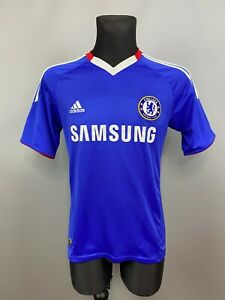 CHELSEA 2010 2011 HOME SHIRT FOOTBALL SOCCER JERSEY ADIDAS MENS SIZE S