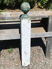 "Antique Newel Post, Porch Architectural Post, 35""H ~ Victorian Maine Farmhouse"