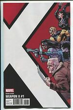 Weapon X #1 Leonard Kirk Corner Box Variant Cover - Marvel Comics/2017 - 1/10