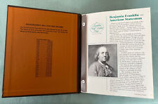 New- Dansco Franklin Half Dollars Book Album #7165 1948-1963