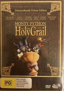 Monty Python And The Holy Grail : 3 Disc : NEW DVD * FREE EXPRESS POST *