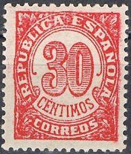 [CF7127] España 1938, Cifras, 30c (MNH)