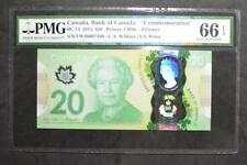 Canada - $20 Dollars - 2015 - Commemorative - PMG - GEM UNC 66 - EPQ