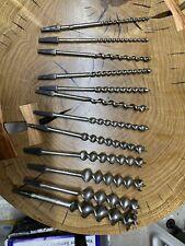 More details for vintage ridgway  auger bit set 240