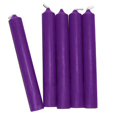 Purple Chime Candles - Lot of 20 - Wiccan Wicca Pagan Ritual Spell Supplies
