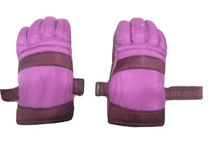 Wells Lamont purple ski/Winter gloves lady large Keep Warm Clip + Jacket Tie-ons