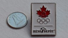 Canada Canadian Olympic Olympics Flame Rings Sports Lapel Hat Pin Epinglette