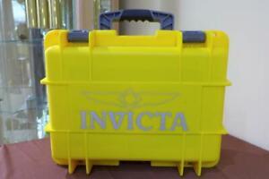 INVICTA 8 SLOTS IMPACT DIVER YELLOW & GREY COLLECTOR CASE
