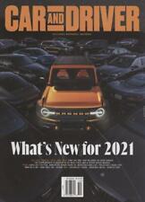 Car & Driver October 2020