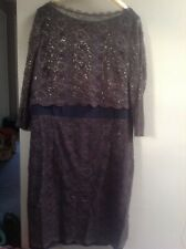 Ladies Boden Lace Overlayed Dress Size UK 22L