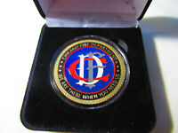"New Orleans Fire Dept Engine 24 Bywater Bullies Challenge Coin 1.75/"" NEW"