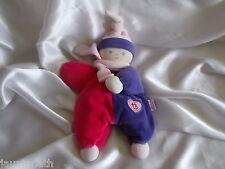 Doudou poupée, lutin Kikou berlingot, grelot, 2007, Corolle