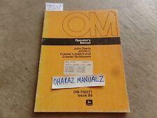 John Deere JD350-C Crawler Loader & Bulldozer Operator's Manual OM-T56371
