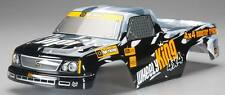 HPI Racing 107322 Mini GT-1 Truck Painted Body Black/Gray Wheely King 4x4