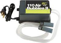Fishing Bait Saver 110 Air Dual Aerator Keep Minnow Fish Livewell Aeration