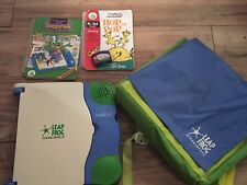Leap Frog Schoolhouse Leappad Learning System Books Educational Backpack E18000