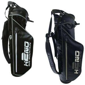 2021 Sun Mountain Mens H2NO Sunday Carry Stand Golf Bag Waterproof Lightweight