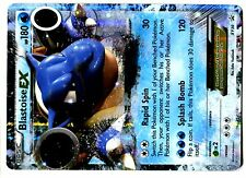 PROMO POKEMON HOLO N° XY30 BLASTOISE EX 180 HP Attack 120