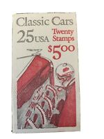 U.S. Booklet #164, 25 cent Classic Cars, MNH, BK164