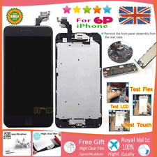 for iPhone 6 Plus Black Screen Replacement Touch Display LCD Digitizer Button