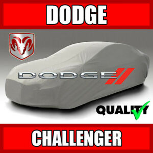 [DODGE CHALLENGER] CAR COVER ☑️ Best ☑️ Waterproof ☑️ 100% Warranty ✔CUSTOM✔FIT