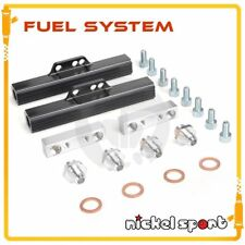 High Flow Racing Fuel Rail Kit For Subaru WRX STI Impreza GDA GDB BLACK
