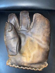 Vintage Reach brand lutzke type 3 finger baseball glove