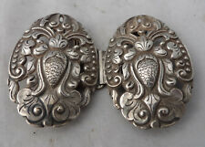 Antique style chinois 800 grade SILVER infirmières Boucle 18 G 7 CM X 4.8 CM A672517