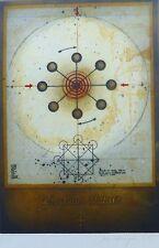 """Friedrich Meckseper """" Perpetuum Mobile """" 1968 Signé à la Main"""