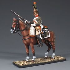 Tin soldiers, 54mm, Private 25 th Dragoon regiment. France 1812