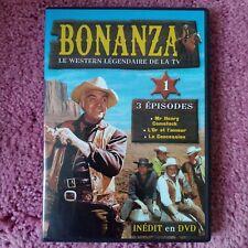 dvd Série télévisée Bonanza volume 1 avec Lorne Greene