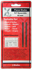 "Makita D-46246 -PB1220C 3-1/4"" 2pc Reversible Tungsten Carbide Planer Blades"