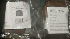 2 NIP Pk of 3 Pampered Chef Nylon Pan Scrapers #2610