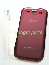 New OEM  Samsung Galaxy S 3 III i747 Back Cover Battery Door  AT&T ( RED)~US