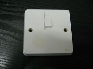 White Tenby Electrical Switch  **CLEARANCE