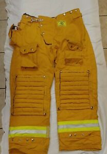 LAFD Morning Pride Firefighter Turnout Pants Size 38X33