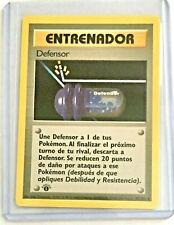 ADDESTRAMENTO - DIFENSORE (TRAINER - DEFENDER) 80/102 Base SPANISH Pokemon MINT