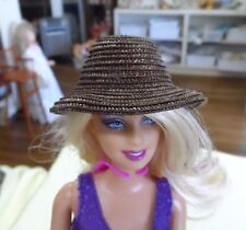 NEW CL 23 RESIN  BARBIE  FASHION  CURVED BRIM  HAT FORM MOLD HEAD  4 2/8