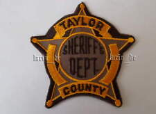 Stati Uniti sceriffo distintivo ricamate per Uniform Taylor Dept. eccuson États-Unis