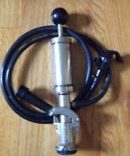 """Banner Equipment 4"""" Beer Keg Tap Pump w/4' feet dispensing line ( Used )"""