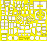 Eduard Accessories Cx279 - 1:72 B-17G pour Revell - Film de Masquage - Neuf