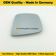 plate Right DRIVER SIDE Flat wing mirror glass for NISSAN nv200 2010-17 Heated