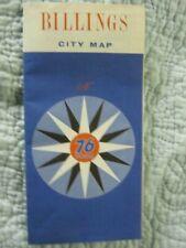 Billings, Montana City Map